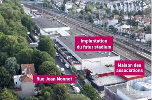 Le nouveau gymnase de Nogent-sur-Marne accueillera un mur d'escalade