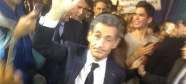 Nicolas Sarkozy à Saint-Maur-des-Fossés le 11 avril