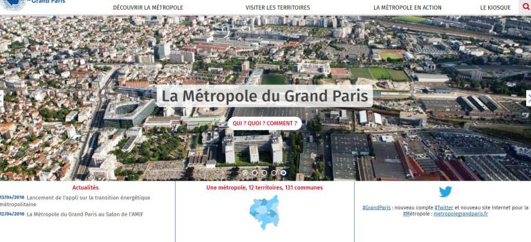 Ile-de-France : la métropole du Grand Paris a son site Internet