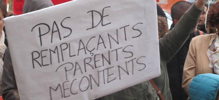 Les écoles de Villejuif demandent leurs remplaçants à l'Inspection