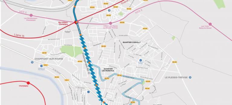 Altival : nouvelle route et couloirs de bus pour accélérer les transports Est Val-de-Marne