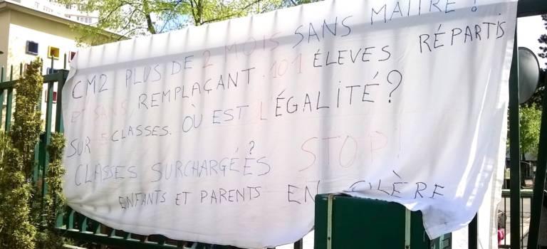 Non-remplacement des enseignants à Villejuif : l'Inspection académique répond