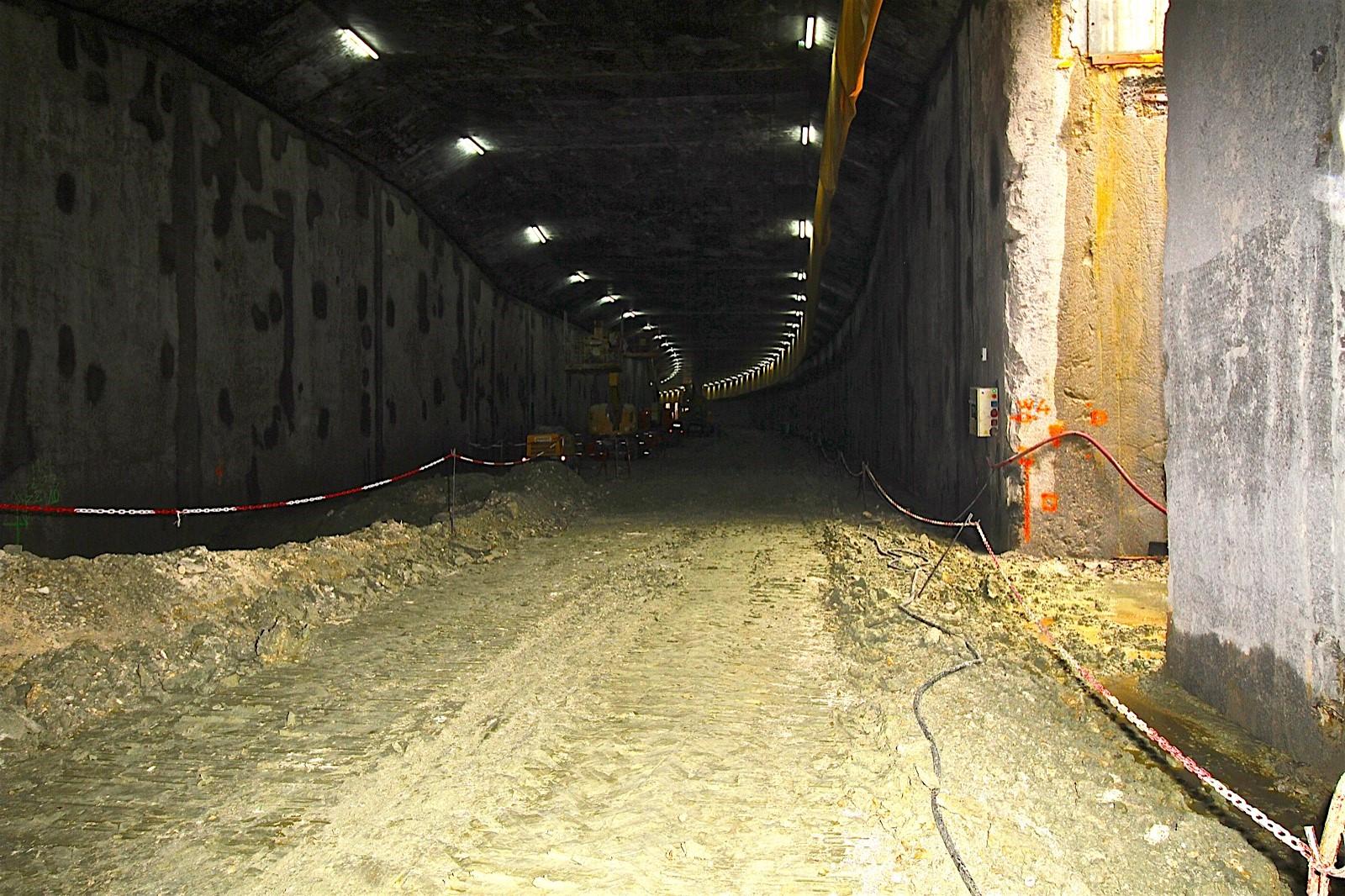 Entree tunnel cote sud