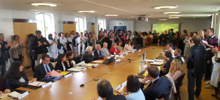 Les opposants aux groupements territoriaux ont investi le Conseil de surveillance des Hôpitaux de Saint-Maurice