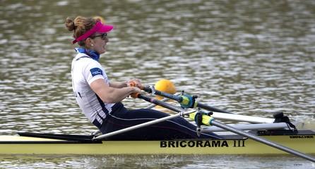 Avant Rio, la championne perreuxienne Helène Lefebvre encourage les collégiens