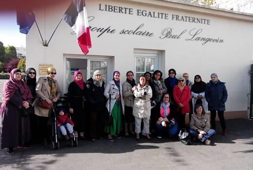 L'école élémentaire Langevin occupée à Villejuif