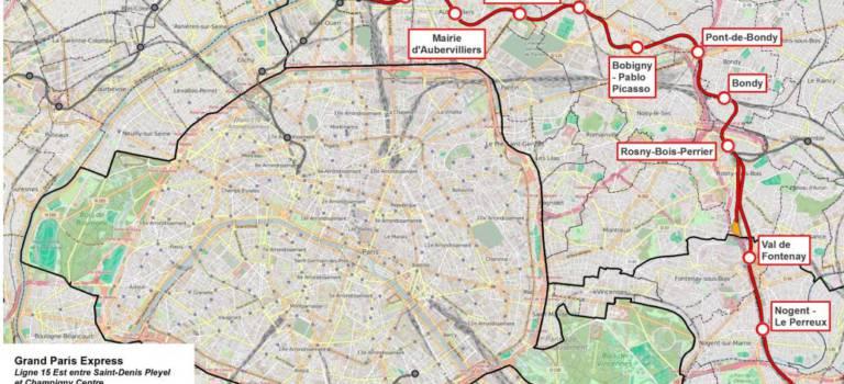 Le Val-de-Marne milite pour la réalisation complète de la ligne 15 Est dès 2025