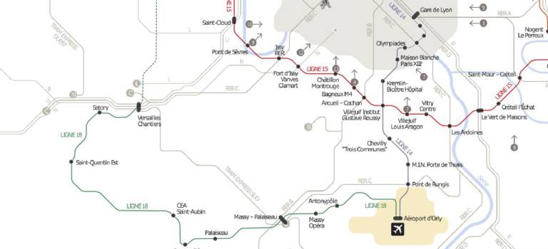 Grand Paris Express : le prolongement à l\'Est de la ligne 18 rendu ...