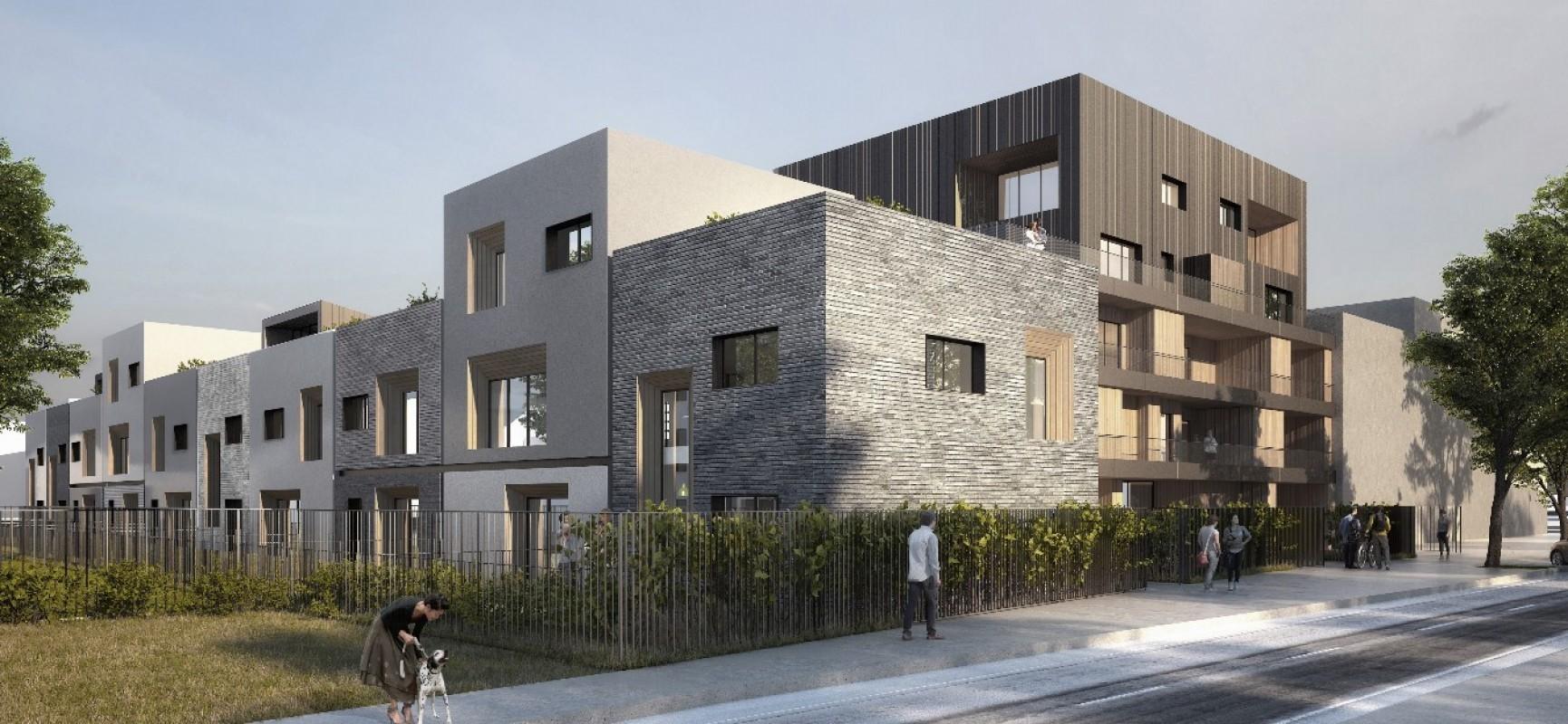 Pi tri architectes dessinera l 39 une des r sidences de la - Garage anatole france villeneuve saint georges ...