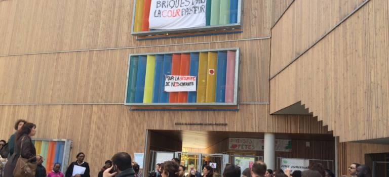 A Limeil-Brévannes, goûter de la colère contre les préfabriqués à l'école Pasteur