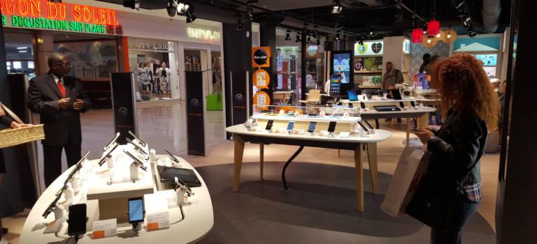 A Pince-Vent Chennevières, Orange inaugure son premier Smart Store du Val-de-Marne