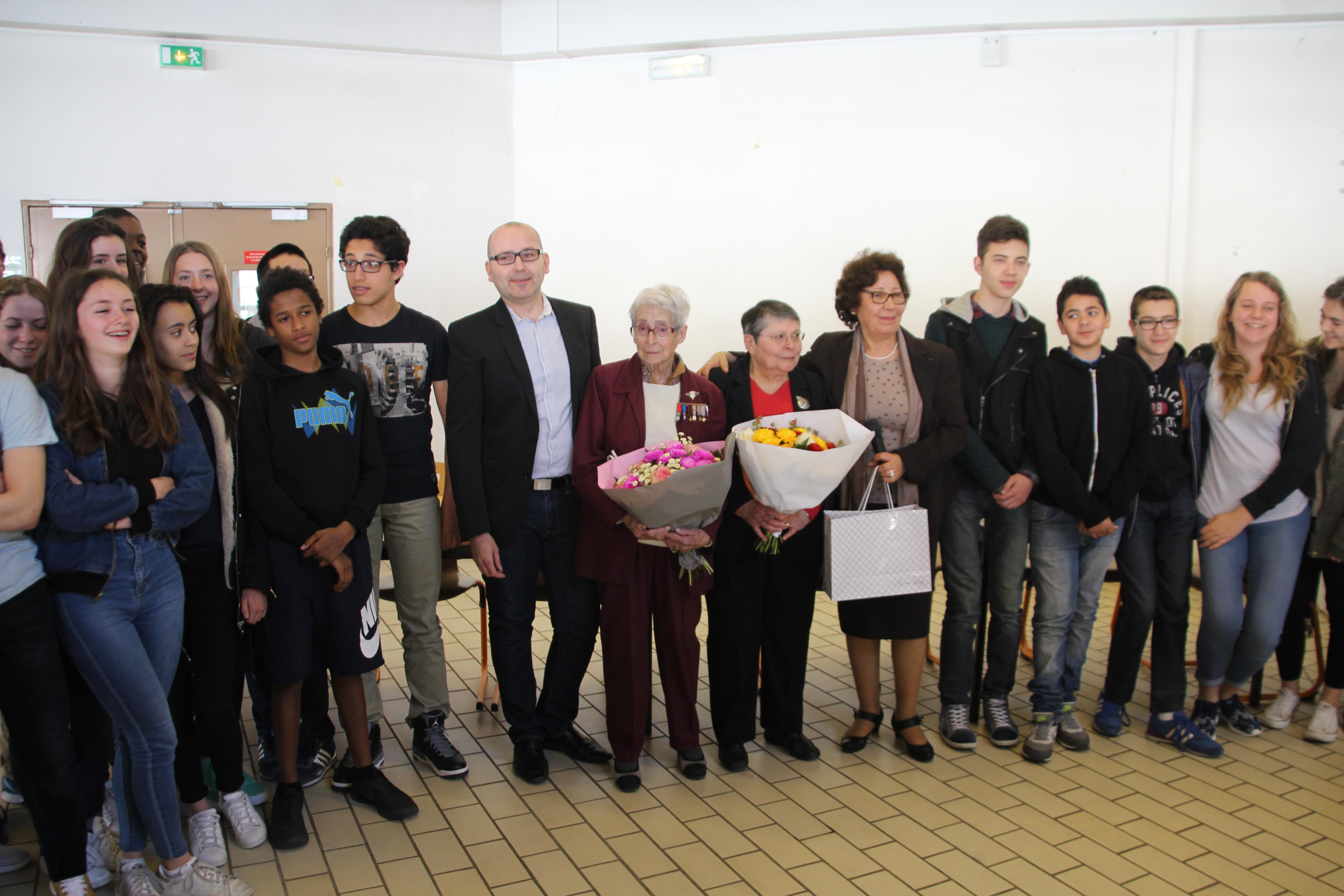 visite-Paulette-résistante-cachan-collège-paul-bert (3)