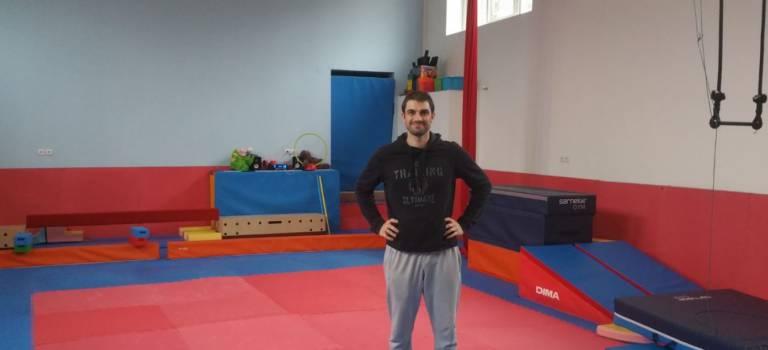 Jérôme Fortunato, l'inventeur de Family Move, le club de gym en famille