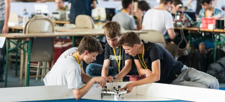 Festival de la robotique à Cachan