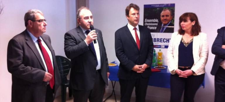 Les Républicains de Créteil ont inauguré leur permanence et rendu hommage à Alain Ghozland