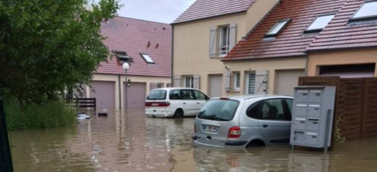 Pluies et inondations : Yerres, Réveillon et Morbras sont sortis de leur lit
