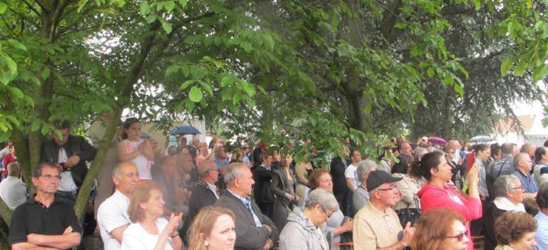 Louis Talamoni  dignement fêté par la communauté portugaise à Champigny-sur-Marne