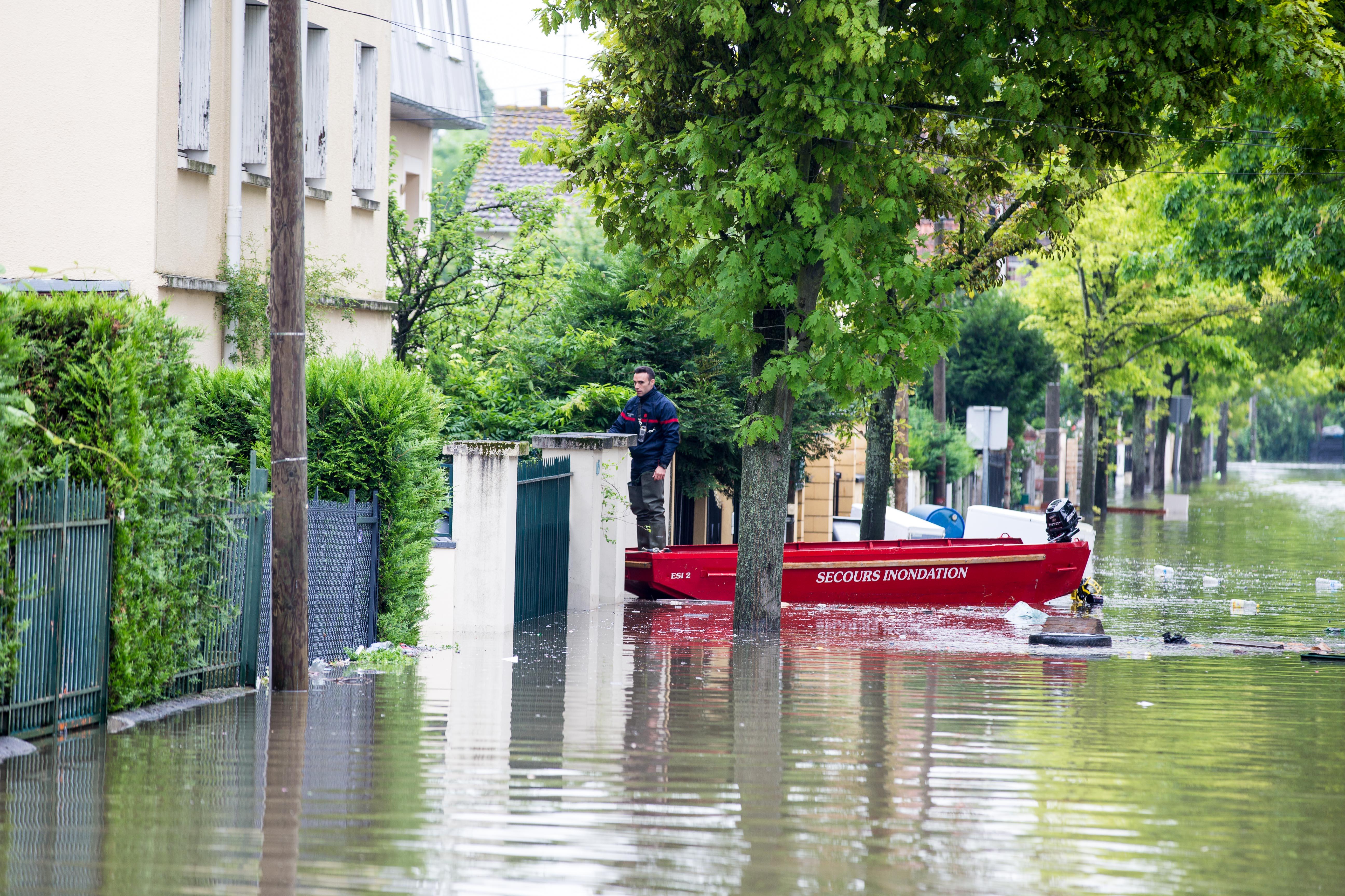 Pompiers de Paris Villeneuve Saint Georges Juin 2016 Photo Mickael Lefevre 1