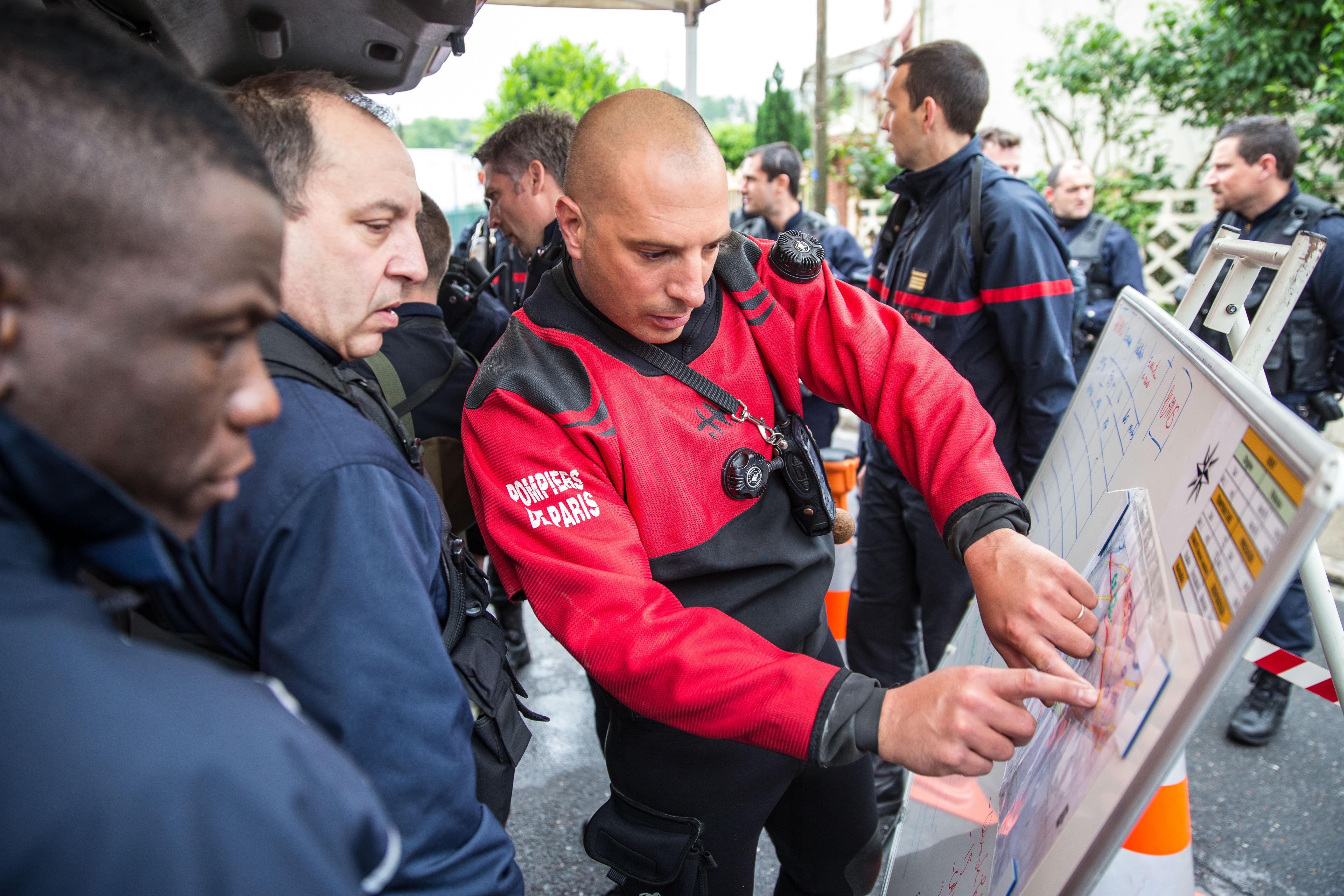 Pompiers de Paris Villeneuve Saint Georges Juin 2016 Photo Mickael Lefevre 10