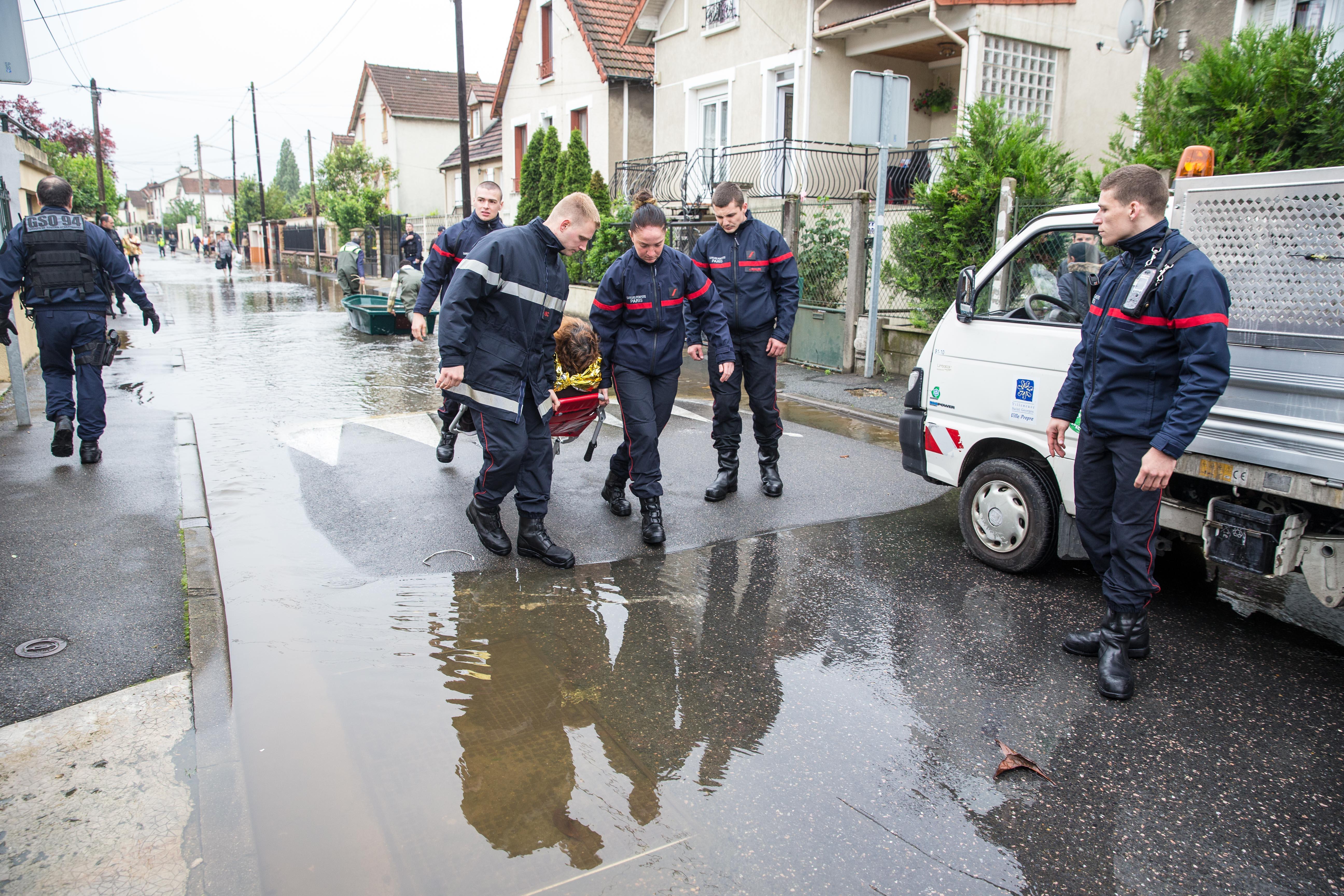 Pompiers de Paris Villeneuve Saint Georges Juin 2016 Photo Mickael Lefevre 12
