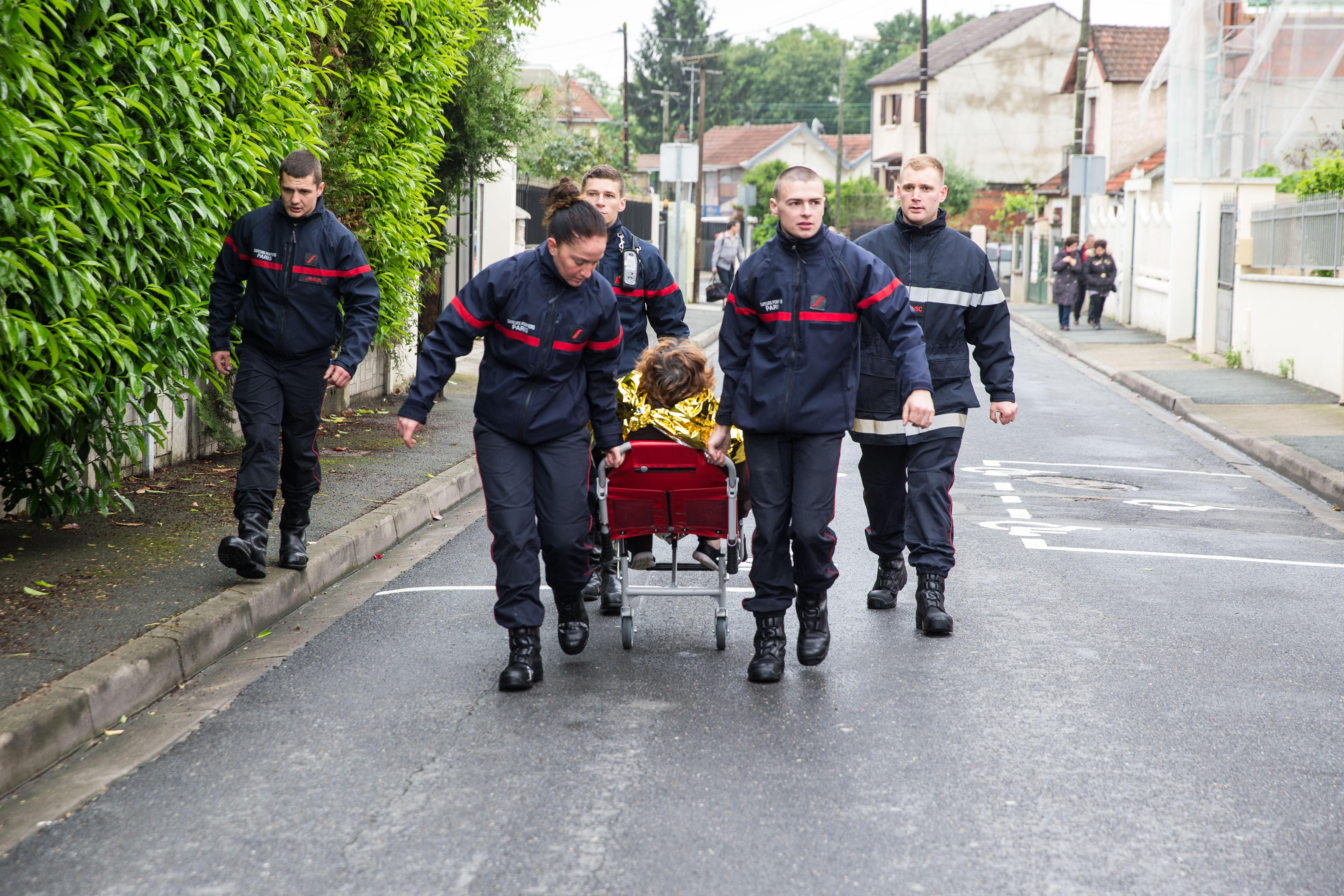 Pompiers de Paris Villeneuve Saint Georges Juin 2016 Photo Mickael Lefevre 13