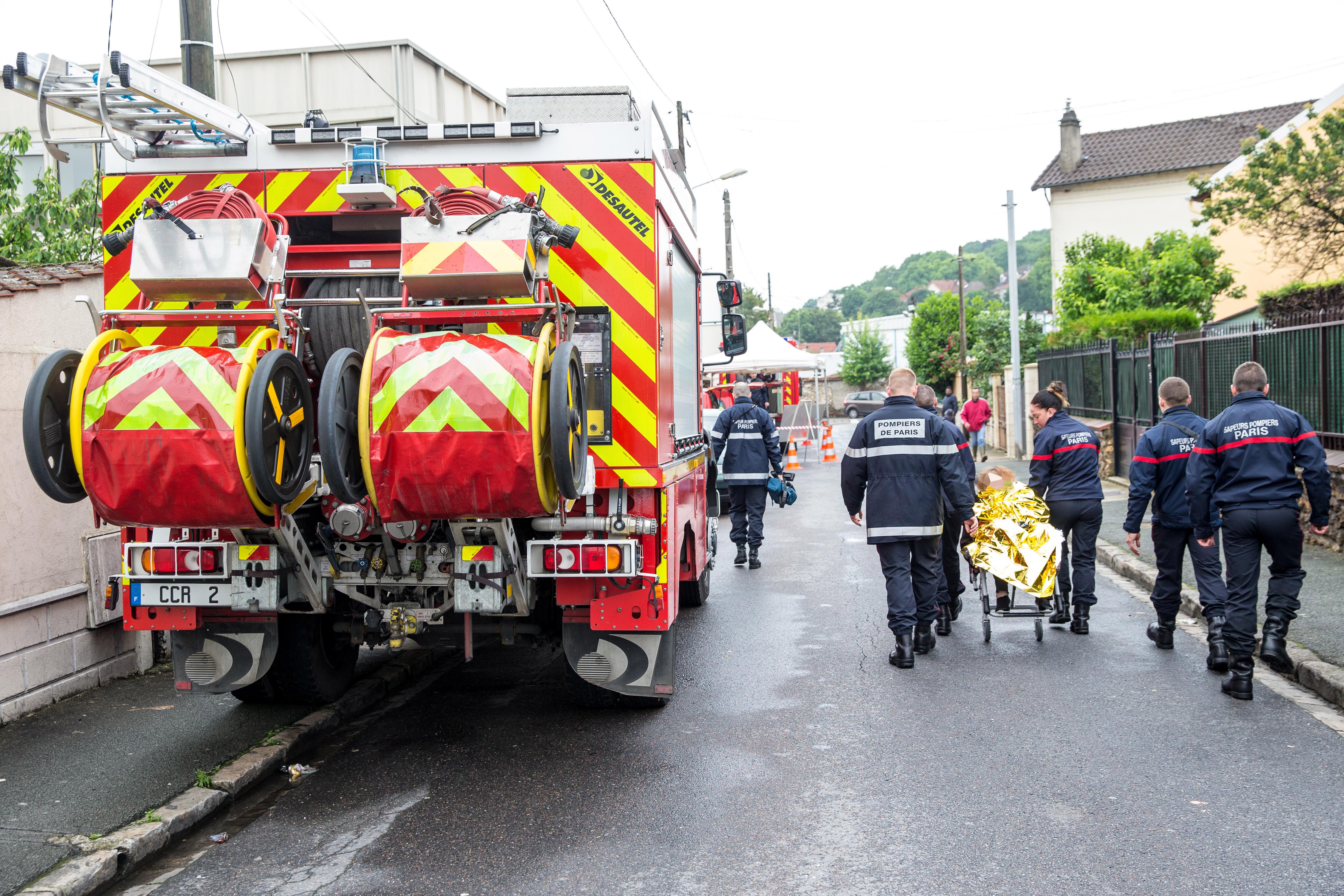 Pompiers de Paris Villeneuve Saint Georges Juin 2016 Photo Mickael Lefevre 14