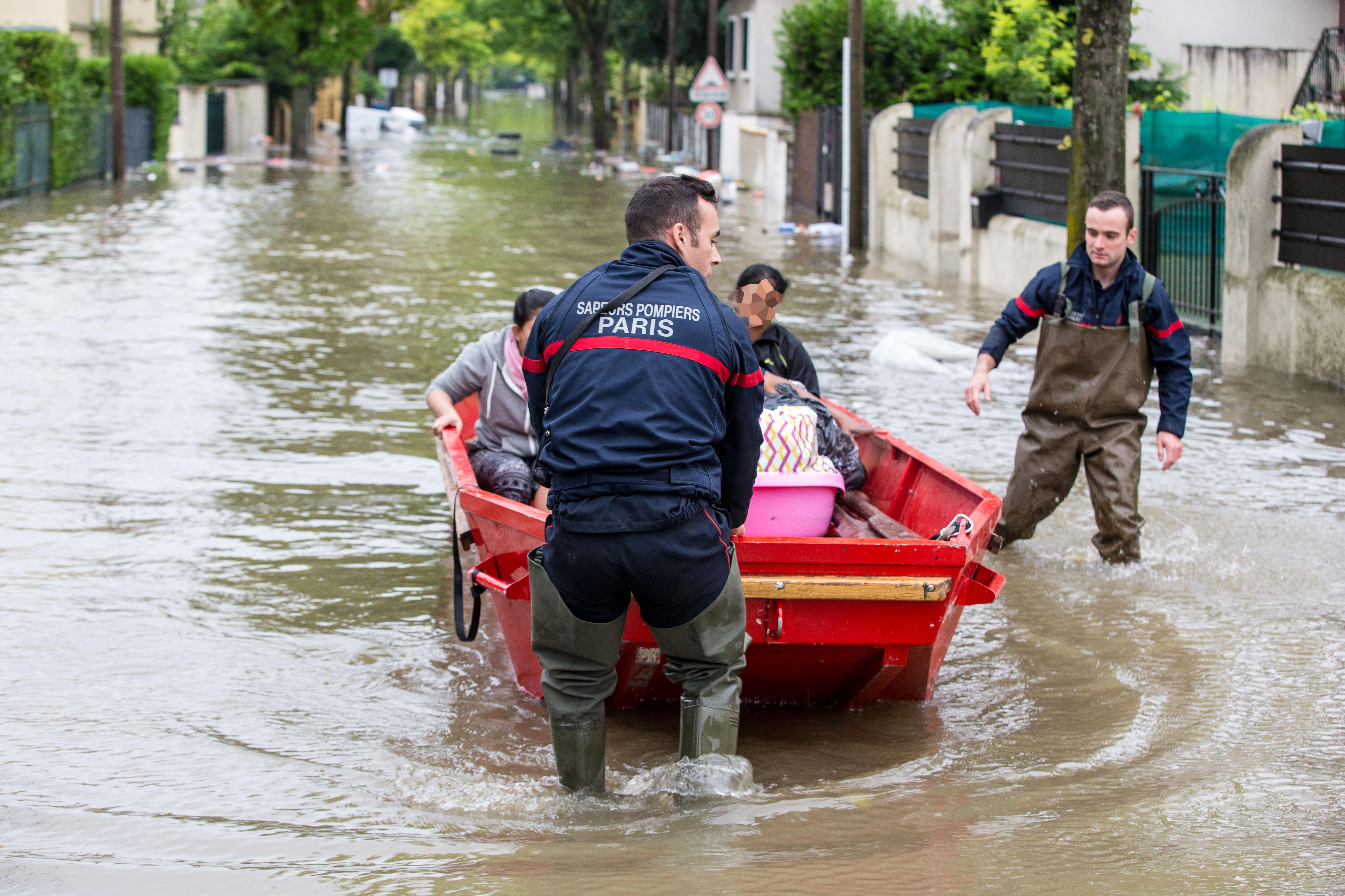 Pompiers de Paris Villeneuve Saint Georges Juin 2016 Photo Mickael Lefevre 3