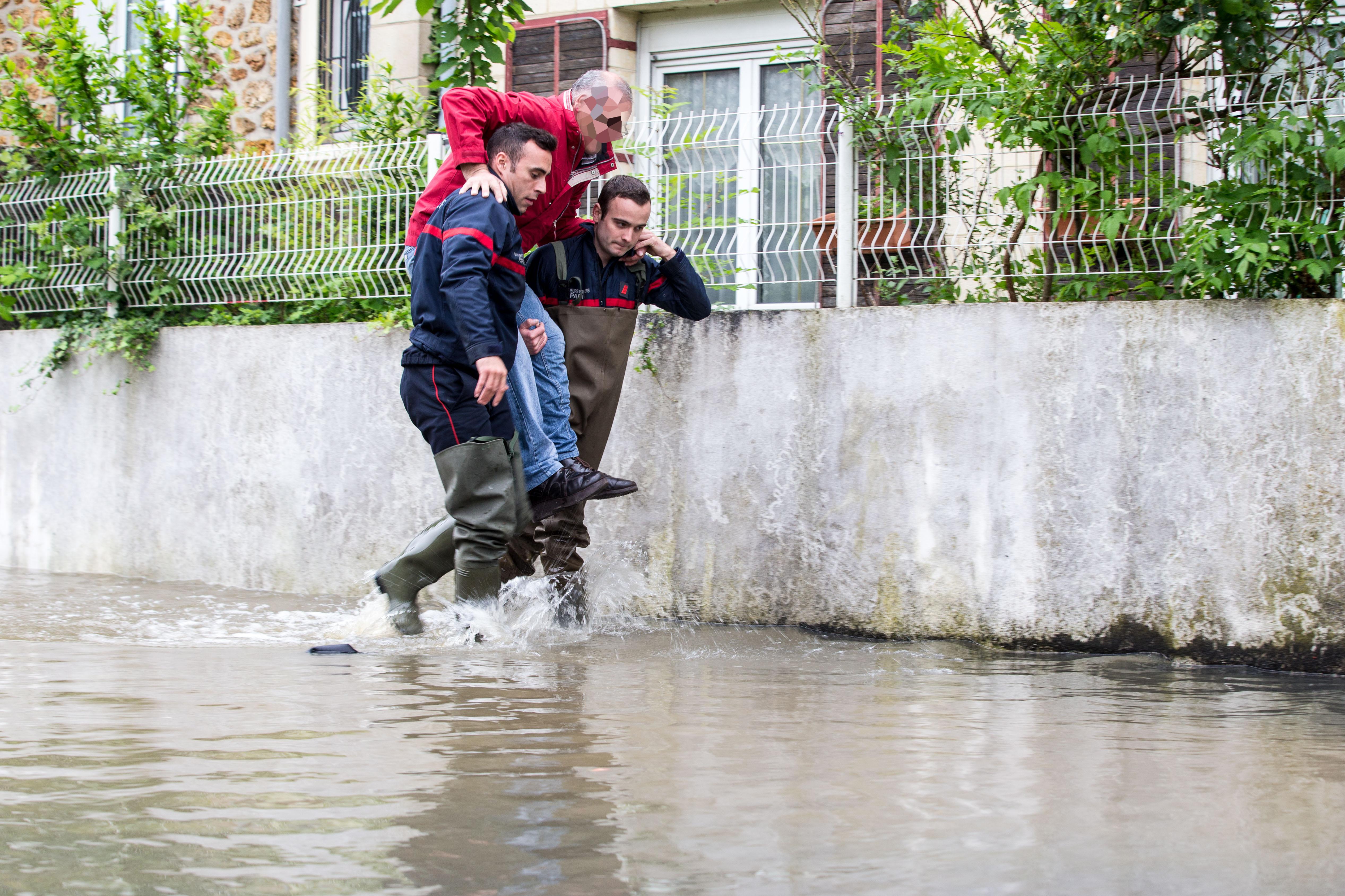 Pompiers de Paris Villeneuve Saint Georges Juin 2016 Photo Mickael Lefevre 4