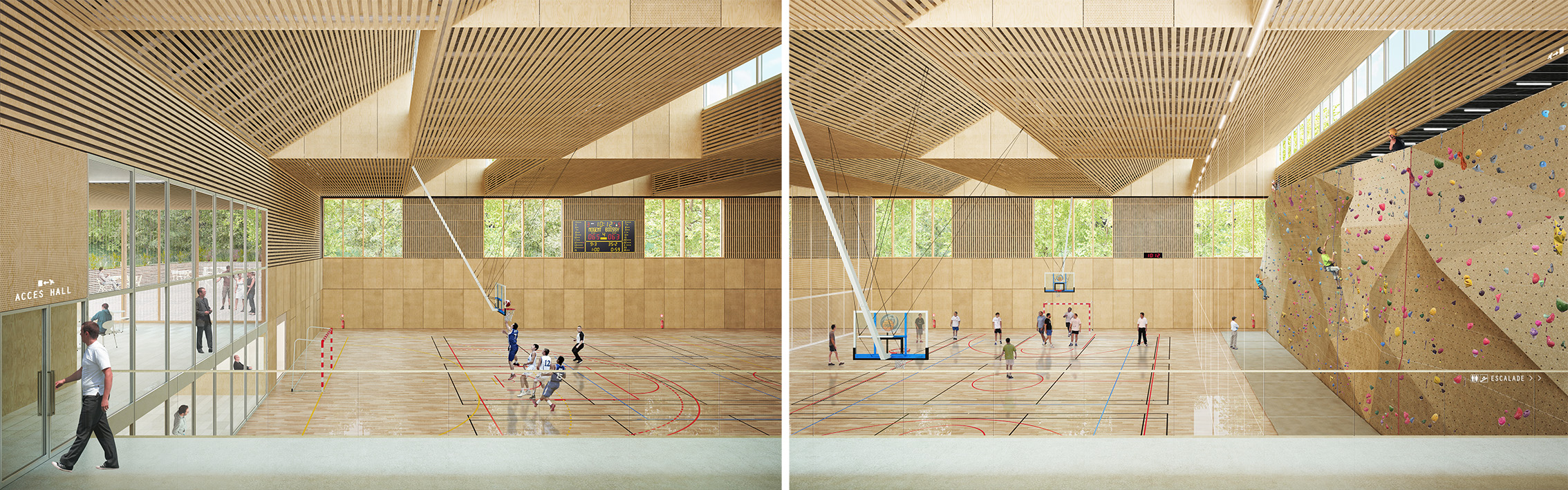 Stadium Gymnase Nogent sur Marne credit Agence Engasser et associes 3