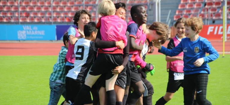 A Créteil, les jeunes joueurs du Val-de-Marne ont lancé l'Euro 2016