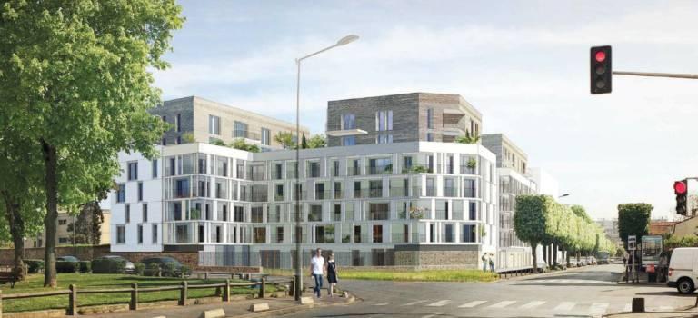 Bientôt 204 logements sur d'anciens terrains de l'hôpital Paul Guiraud à Villejuif