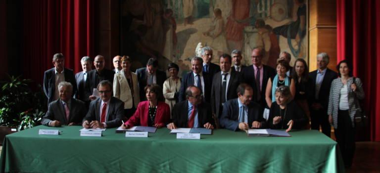La Vallée de la Bièvre a signé son Contrat d'intérêt national