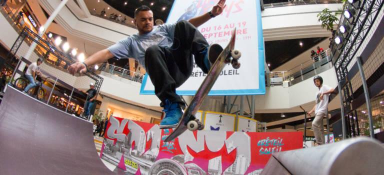 Glisse, hip-hop et street-art : quatre jours de culture urbaine à Créteil Soleil