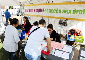 Barnum de l'emploi à Villeneuve-Saint-Georges