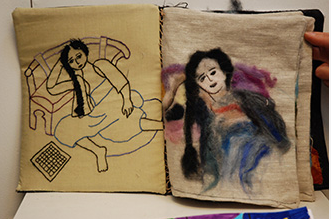 Vernissage de l'exposition des élèves des Beaux-arts de Villejuif