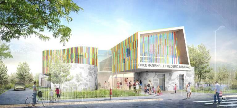 La future école Frédéric Mistral de Villiers-sur-Marne en images