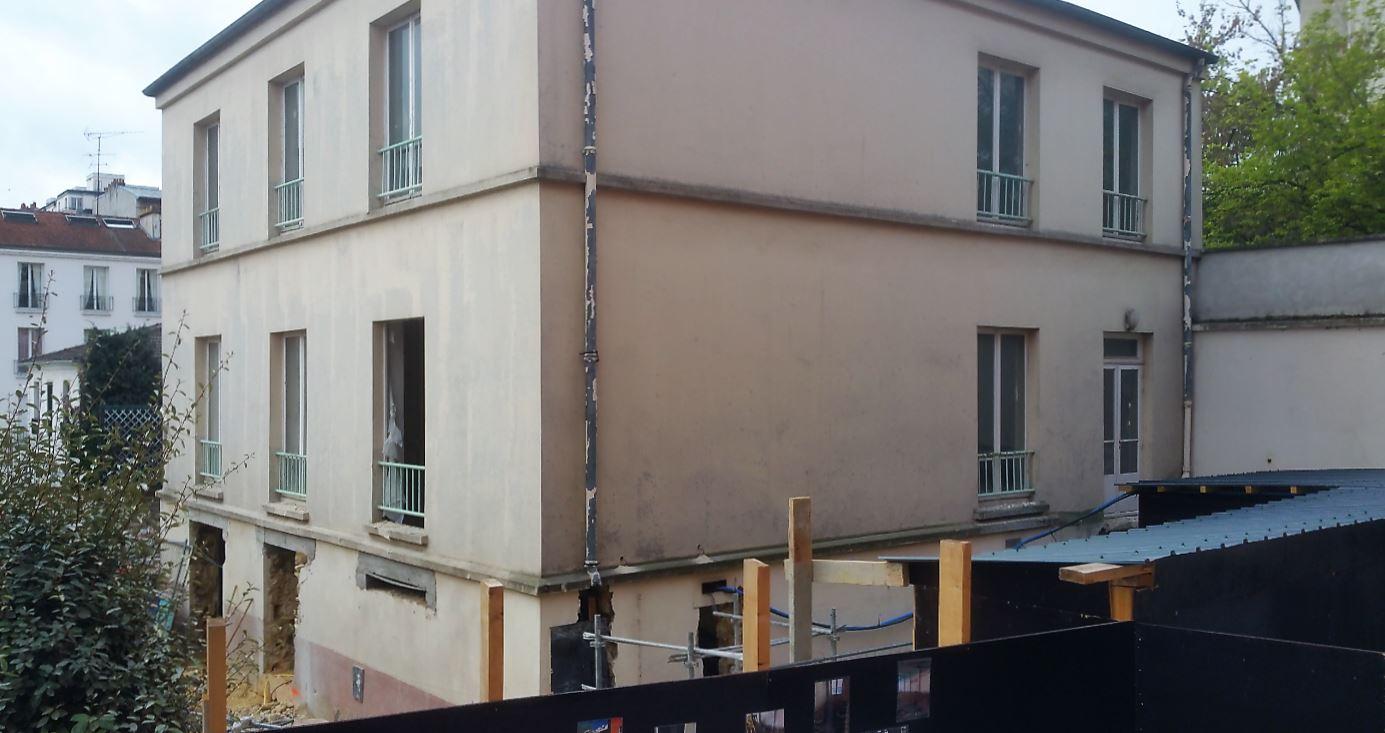 institut Le Val Mande chantier ecole accueil 4 ans
