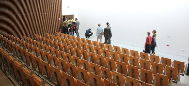 Première rentrée du lycée international de l'Est parisien à Noisy-le-Grand