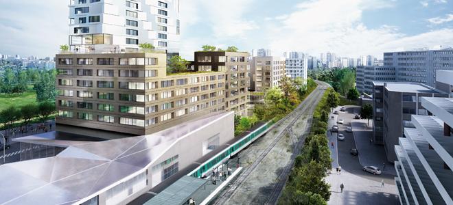 Réunion sur les projets urbains du triangle de l'Echat à Créteil