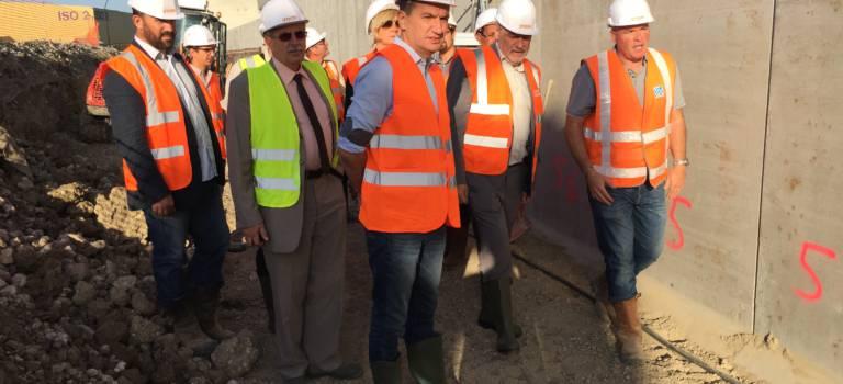 Tournée des chantiers de voirie du Val-de-Marne