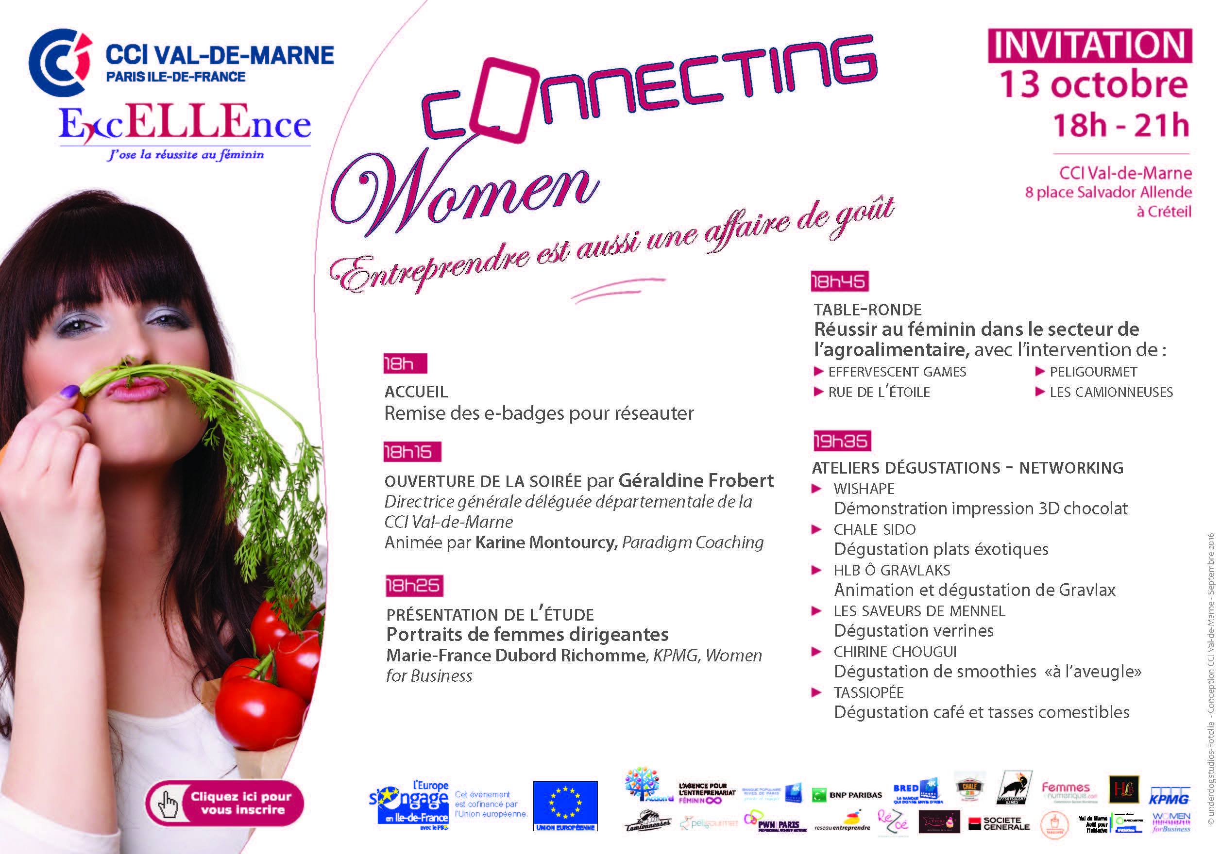 Invitation Connecting Women 13 octobre 2016 VF