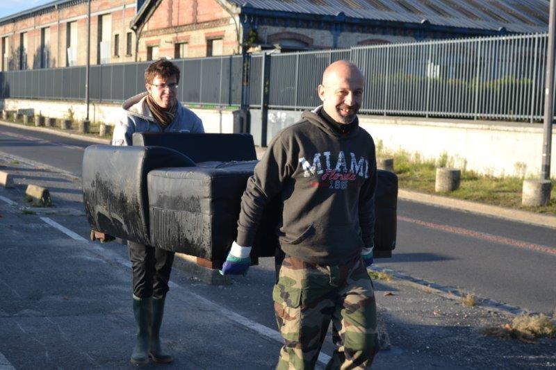 Ramassage dechets Seine Ose Ivry sur Seine 2
