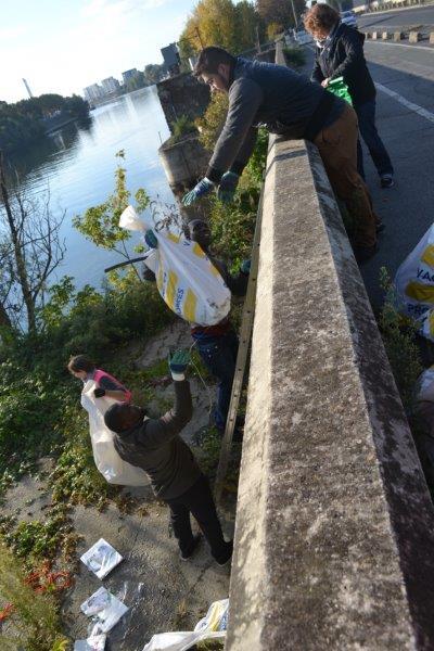 Ramassage dechets Seine Ose Ivry sur Seine 4