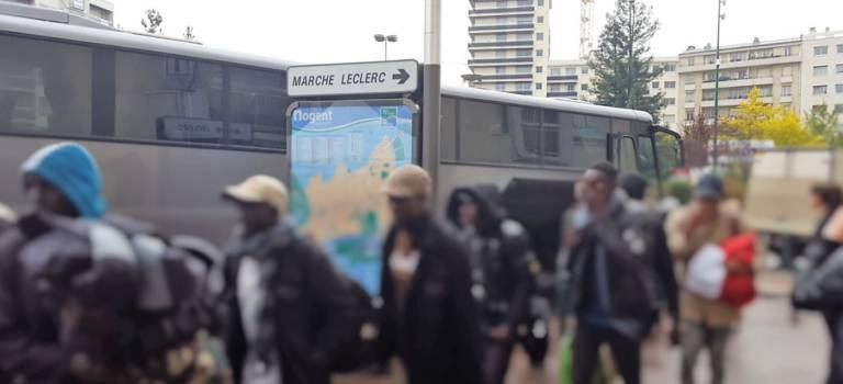 Evacuation du campement Stalindrad, des migrants accueillis à Nogent-sur-Marne et Créteil
