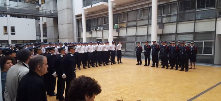 Une promotion record de nouveaux policiers accueillie en Val-de-Marne