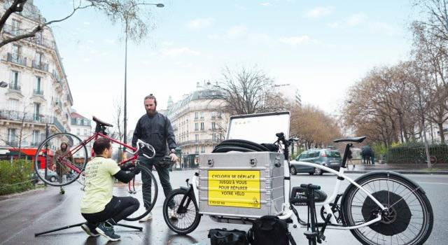 Avec Cyclofix, la réparation vélo à domicile débarque en Val-de-Marne