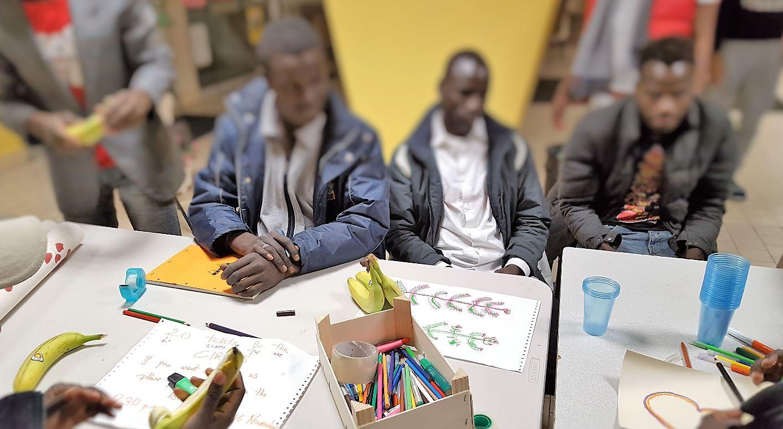 Dessin refugie Nogent sur Marne Novembre 2016 2