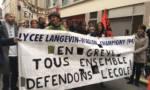 Les lycées de Zep manifestent à Champigny-sur-Marne