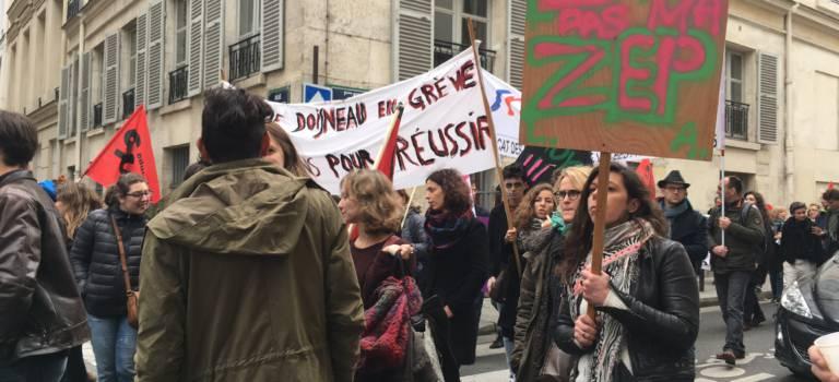 Nouvelle grève des lycées de zone d'éducation prioritaire