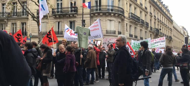 A Champigny, la mobilisation se poursuit avec des couacs pour défendre les lycées de Zep